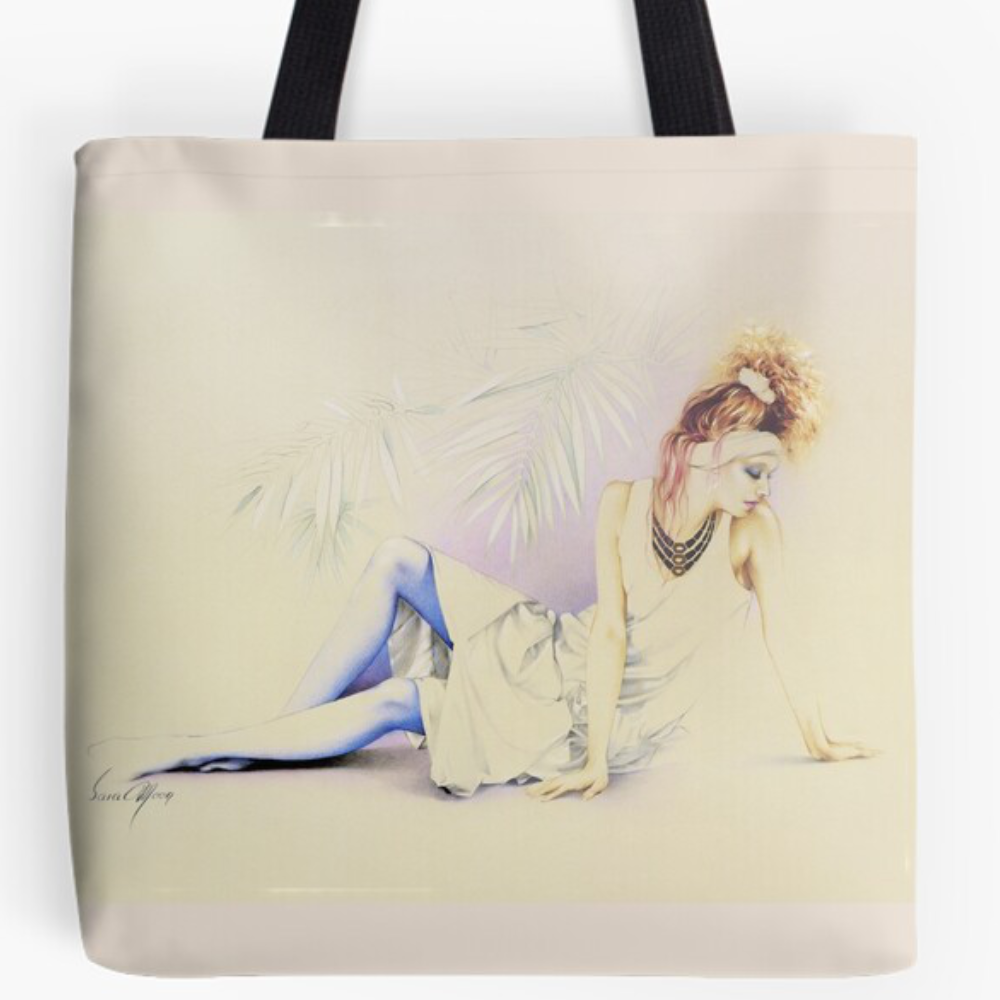 Ushi Tote Bag by Sara Moon