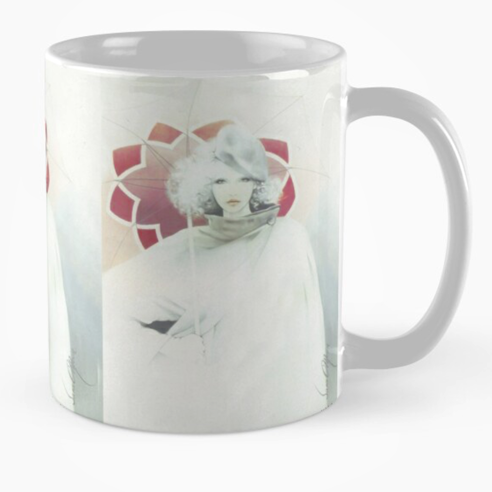 Beauty In The Rain Mug by Sara Moon by Sara Moon