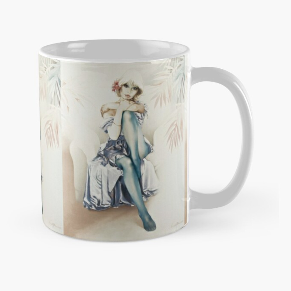 'Blue Ice' Mugs & Travel Mugs by Sara Moon