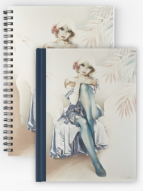'Blue Ice' Notebook & Journals by Sara Moon
