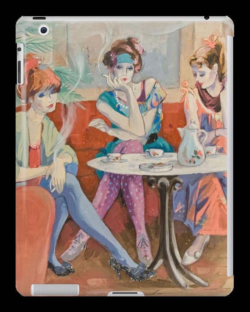 Café Chat Tablet Skin Signed Bijan