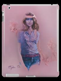 Blue Eyes ll Tablet Skin by Sara Moon