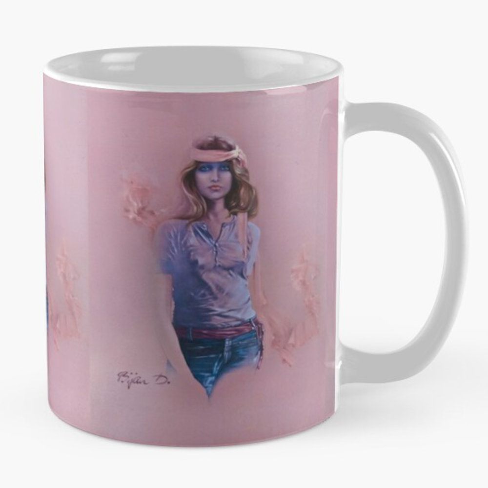 Blue Eyes ll Mug by Sara Moon