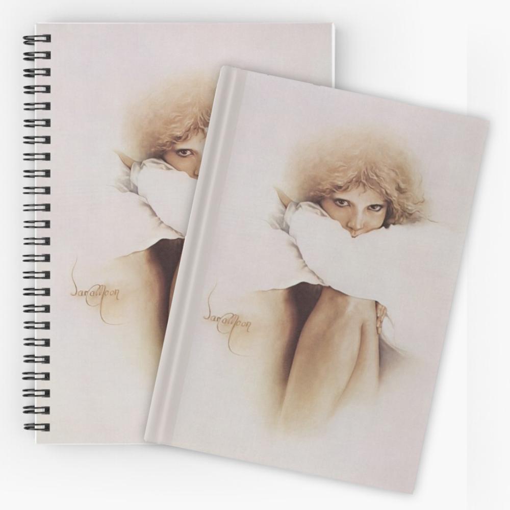 'Elaine' Notebook & Journal by Sara Moon