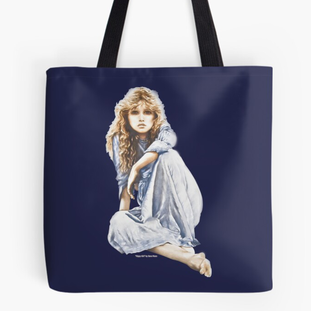 Hippy Girl as a Cut-Out at RedBubble