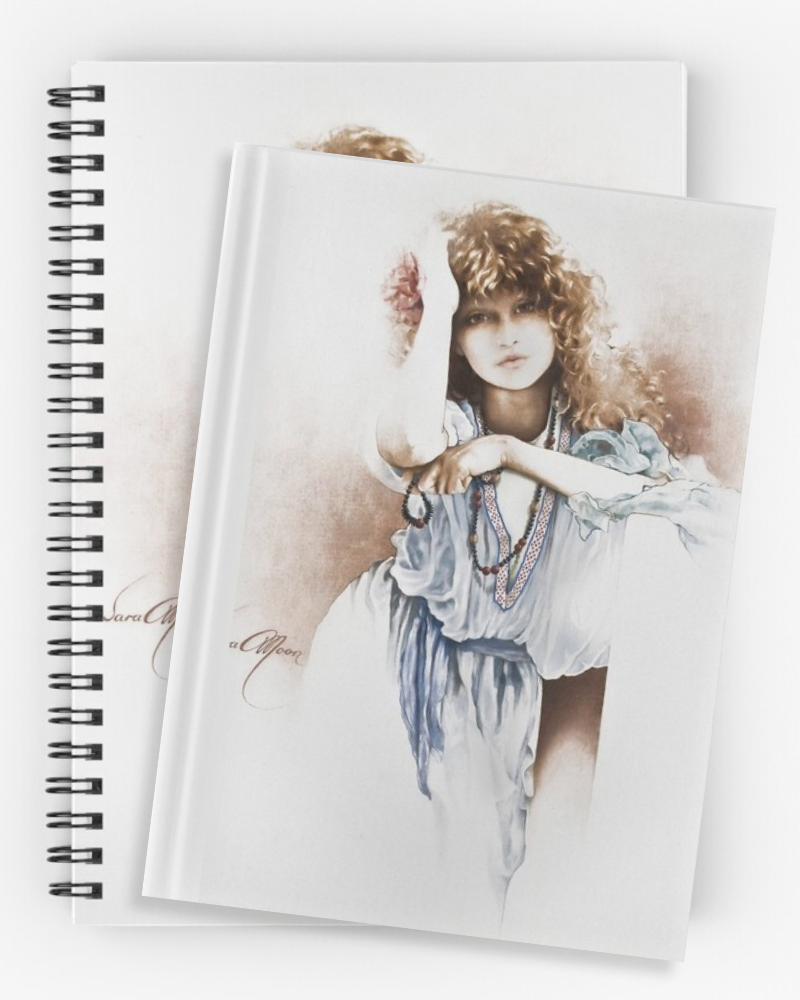 'Hippy Days' Notebooks & Journals by Sara Moon