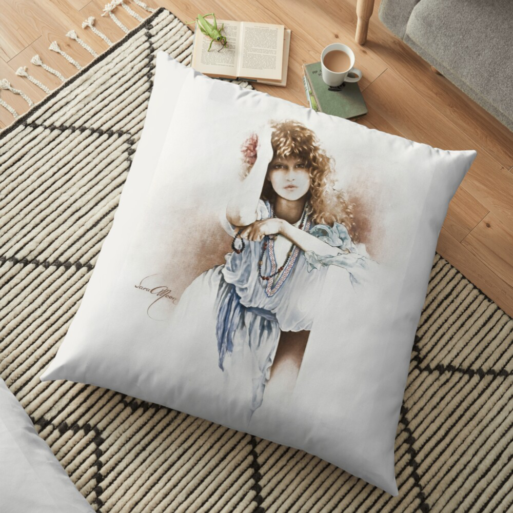 'Hippy Days' Pillows by Sara Moon