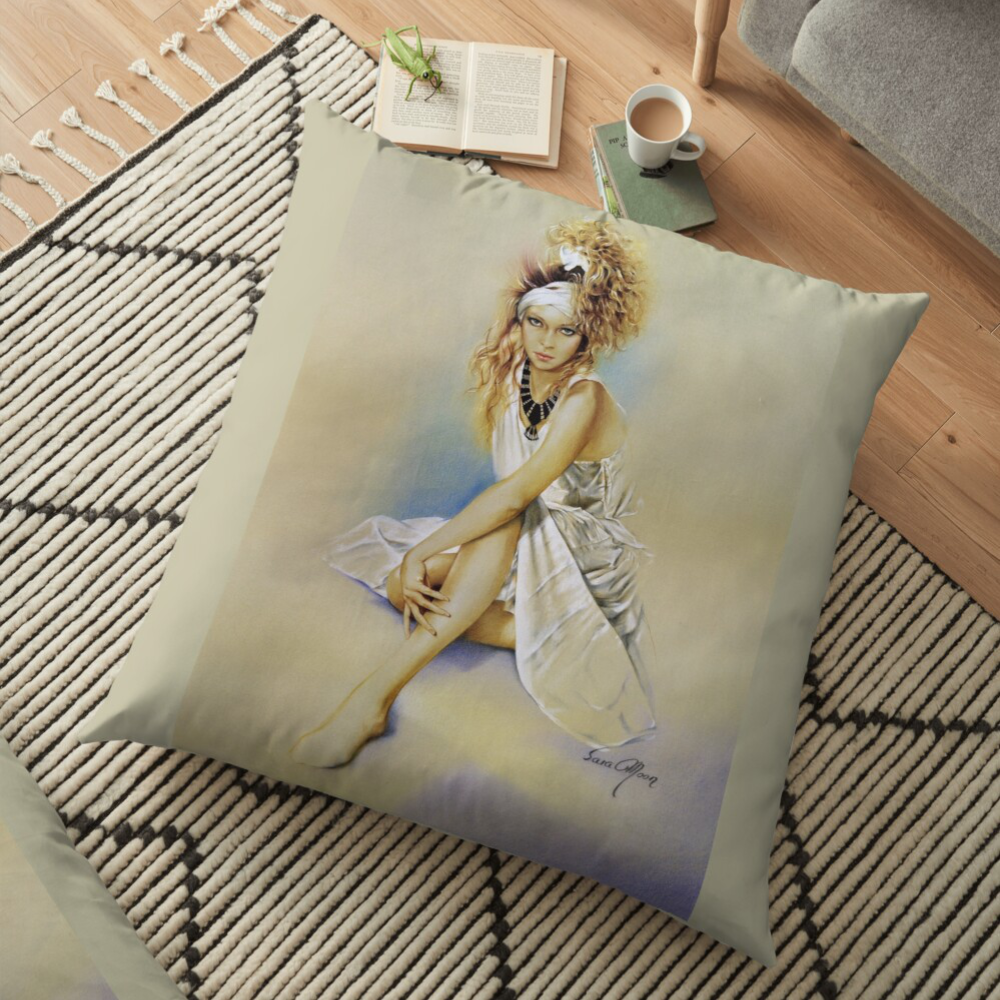 'Silvia' Pillows by Sara Moon