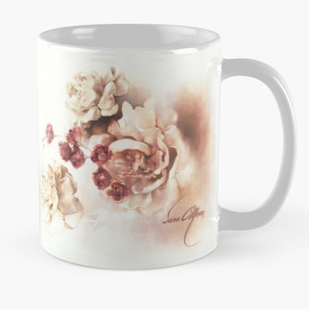 'Bouquet l' Mug by Sara Moon