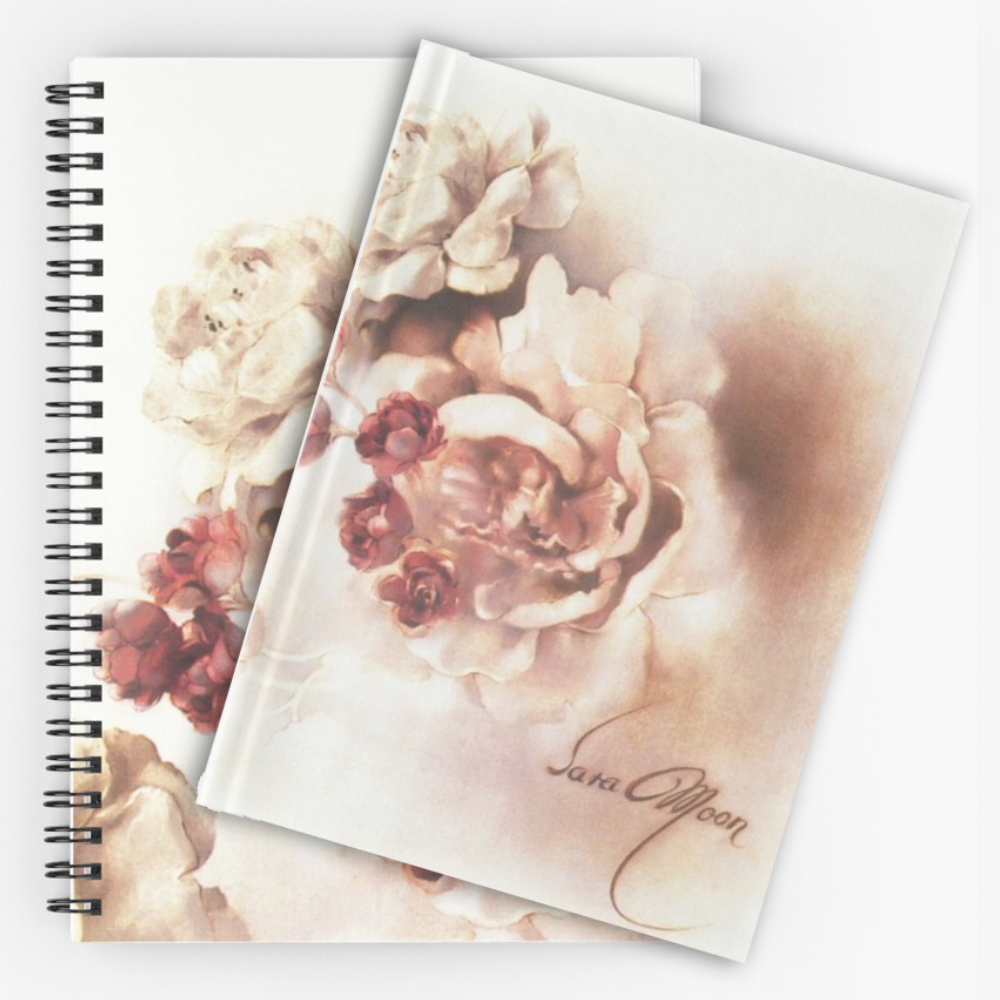'Bouquet l' Notepads by Sara Moon