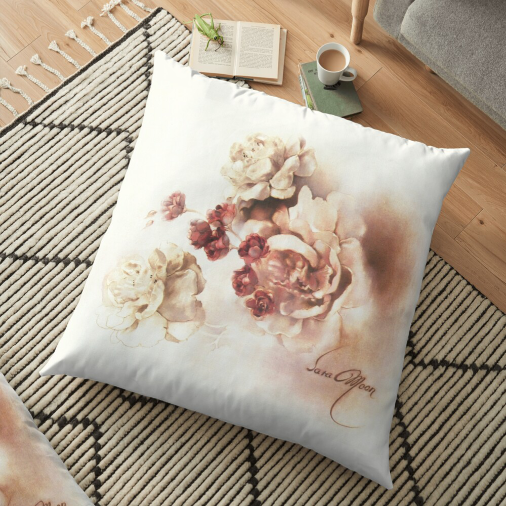 'Bouquet l' Pillow by Sara Moon