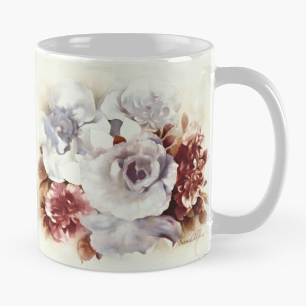 'Bouquet ll' Mug by Sara Moon