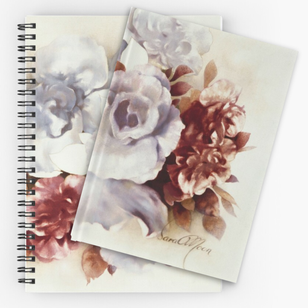 'Bouquet ll' Notepads by Sara Moon