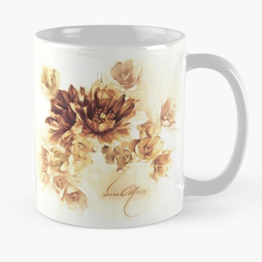 'Bouquet lll' Mug by Sara Moon