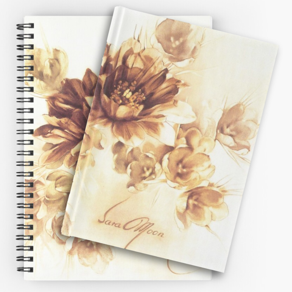 'Bouquet lll' Notepads by Sara Moon