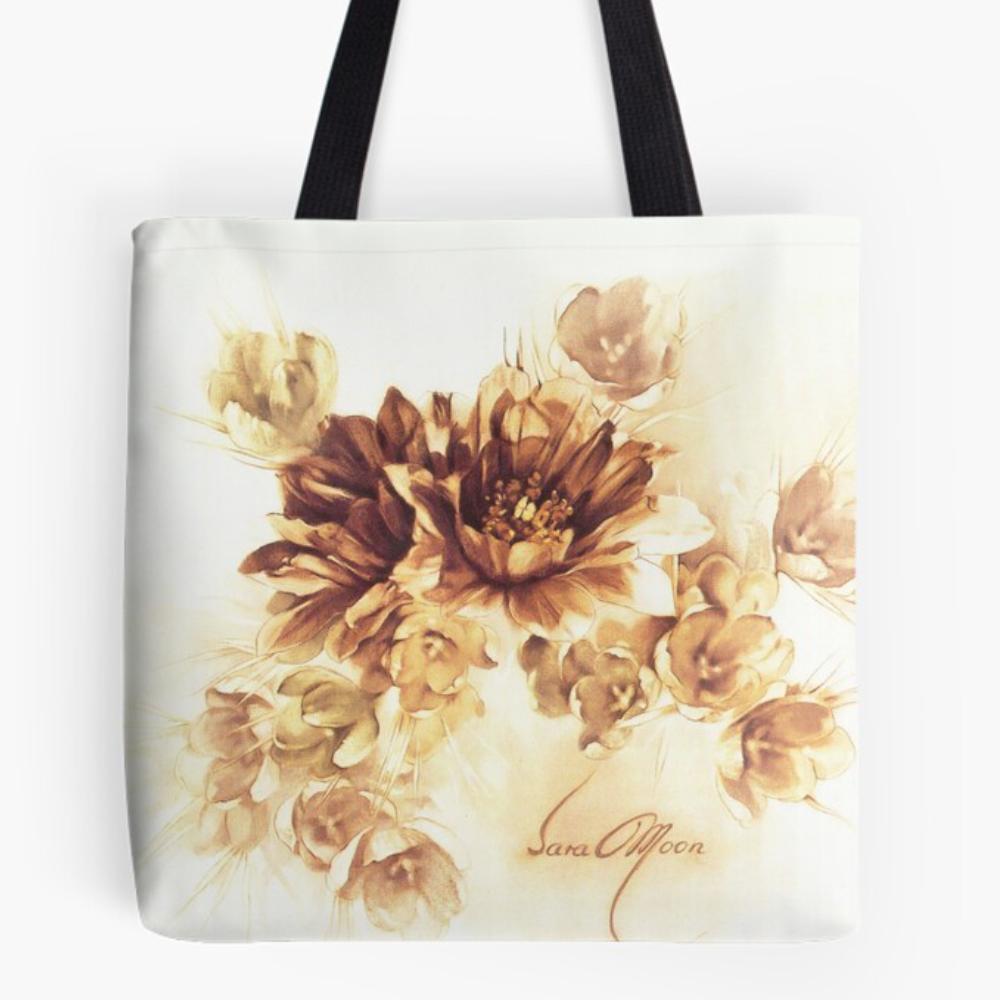 'Bouquet ll' Draw-string Bag by Sara Moon