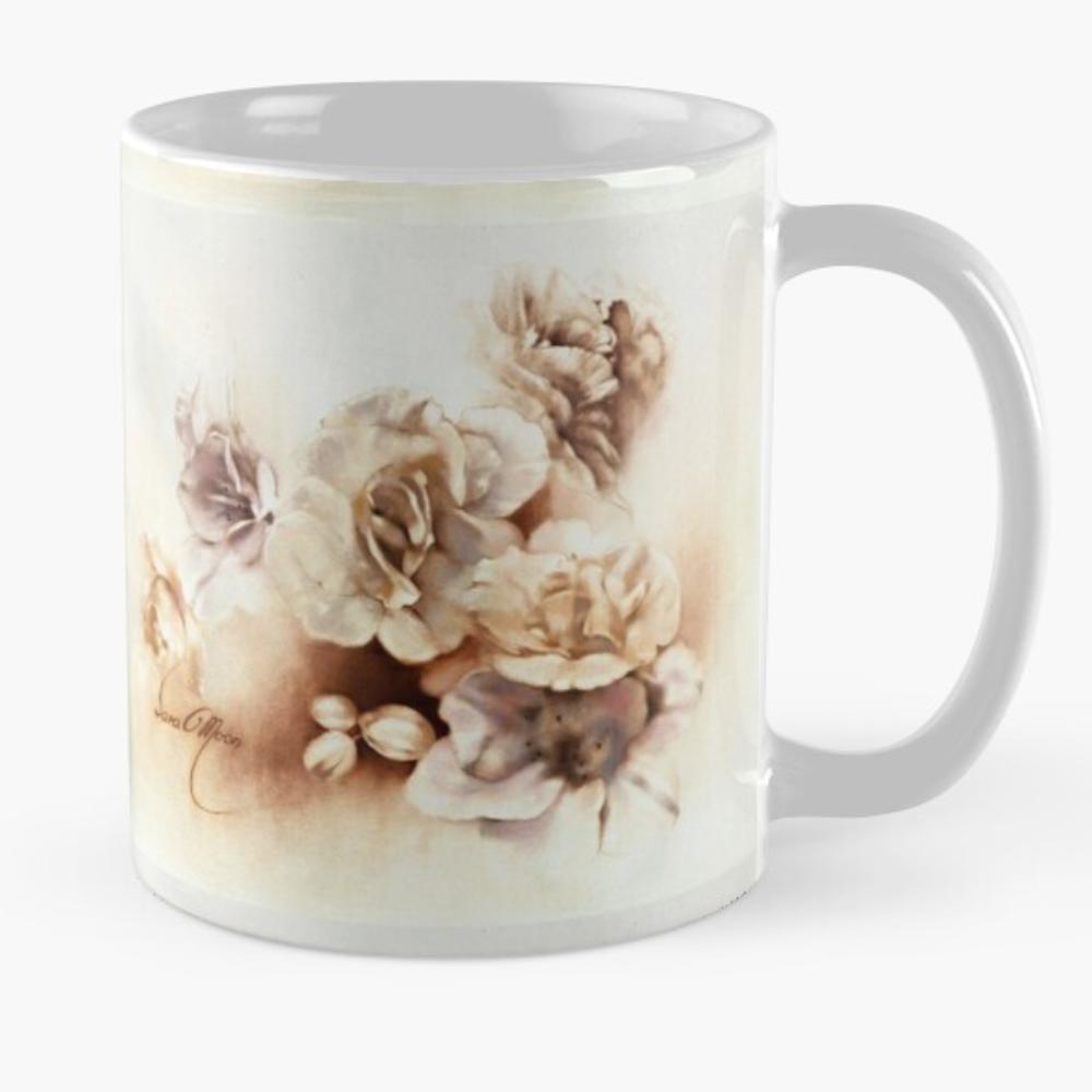 'Bouquet lV' Mug by Sara Moon