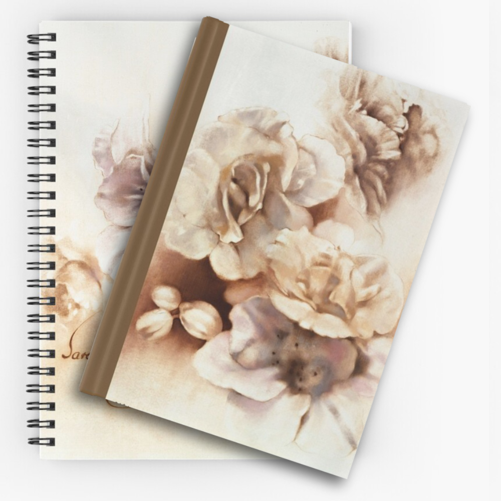 'Bouquet lV' Notepads by Sara Moon