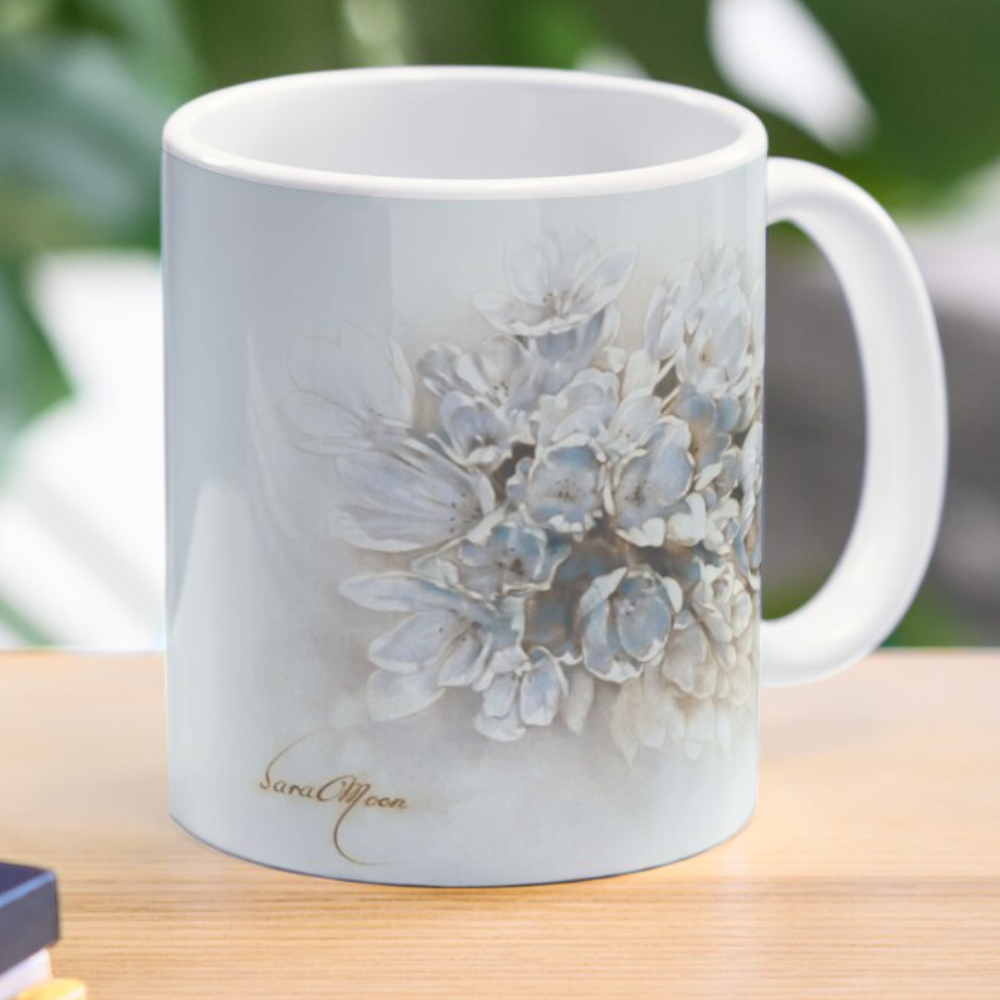 'Bouquet V' Mug by Sara Moon