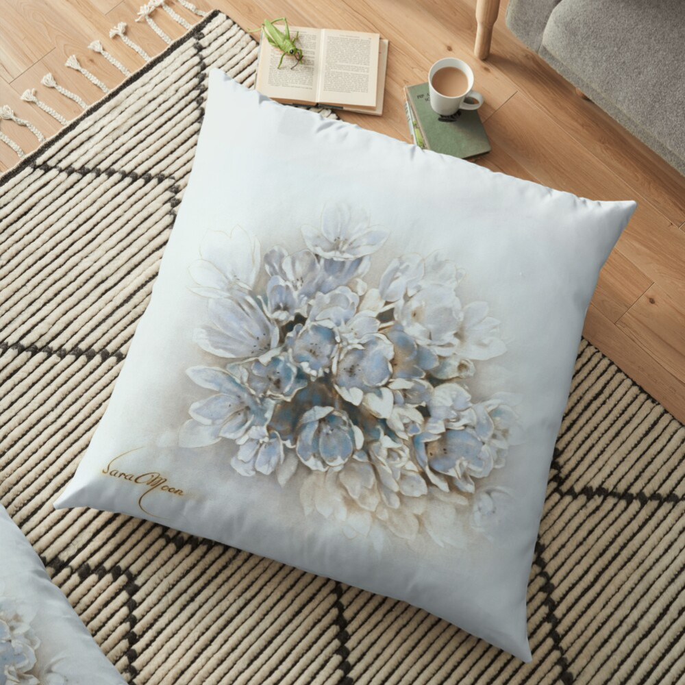 'Bouquet lV' Pillow by Sara Moon