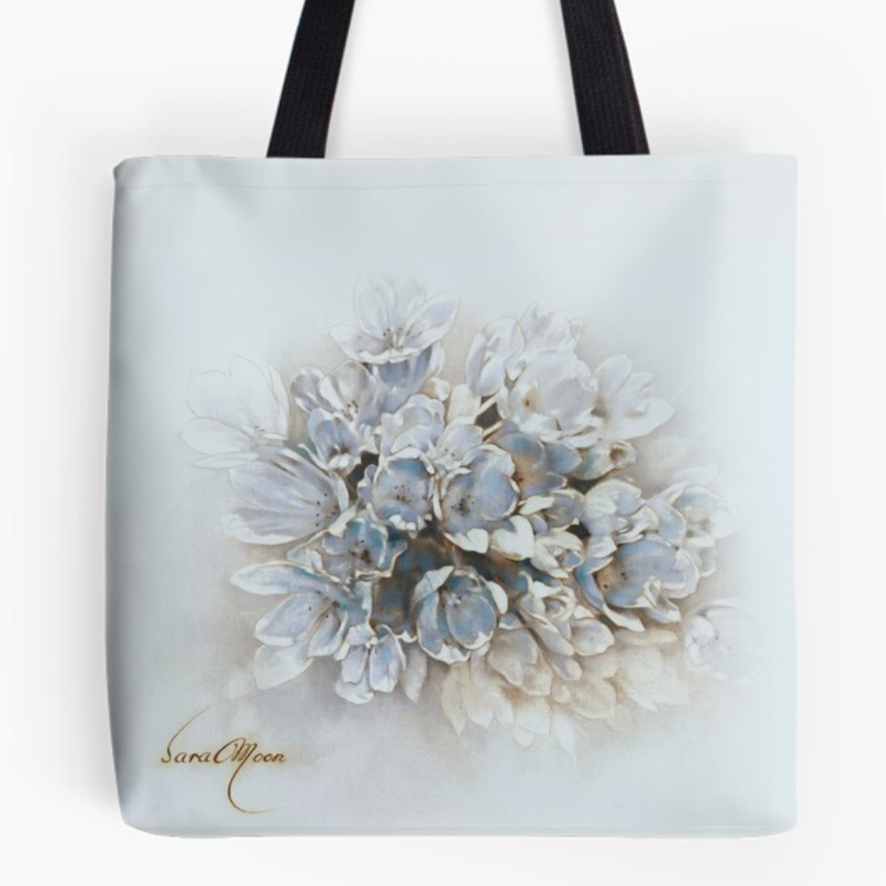 'Bouquet V' Tote Bag by Sara Moon