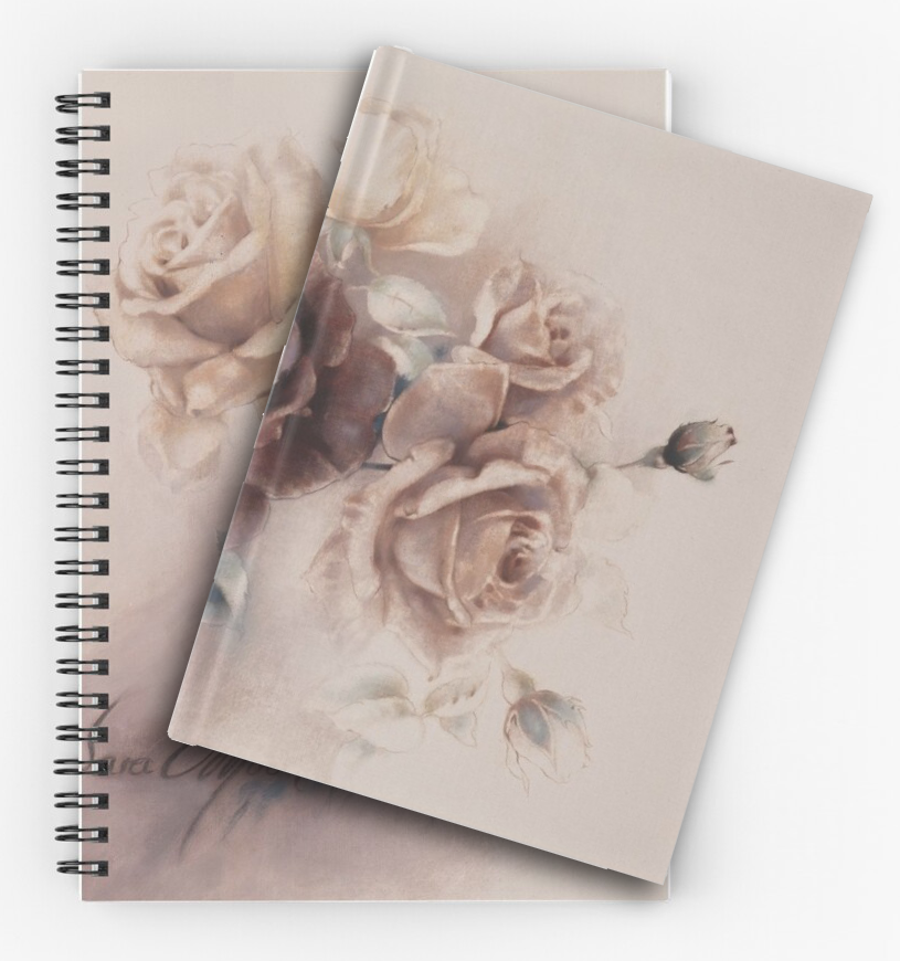 'Bouquet Vl' Notepads by Sara Moon