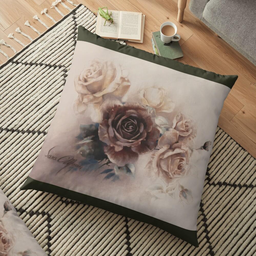 'Bouquet Vl' Pillow by Sara Moon