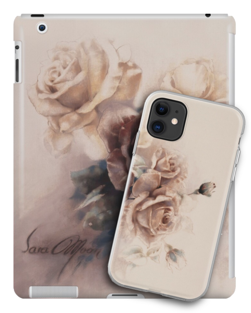 'Bouquet lV' Tablet & Phone Skin by Sara Moon