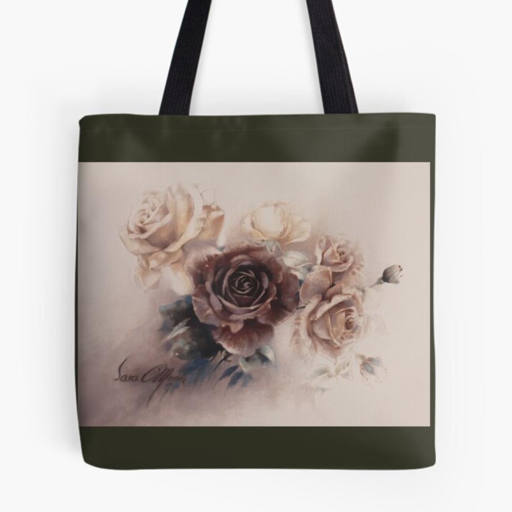 'Bouquet Vl' Tote Bag by Sara Moon