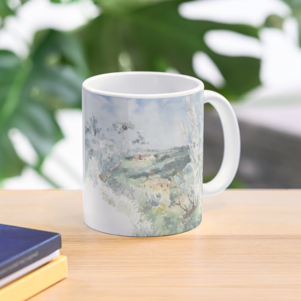 'Out Walking' Mug by Bijan D.