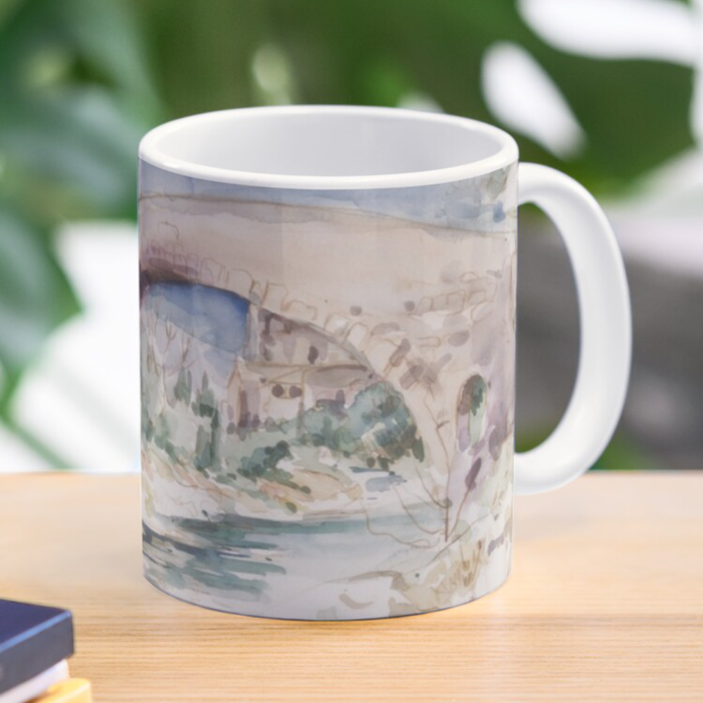 """By The Riverside' Mug by Bijan D."