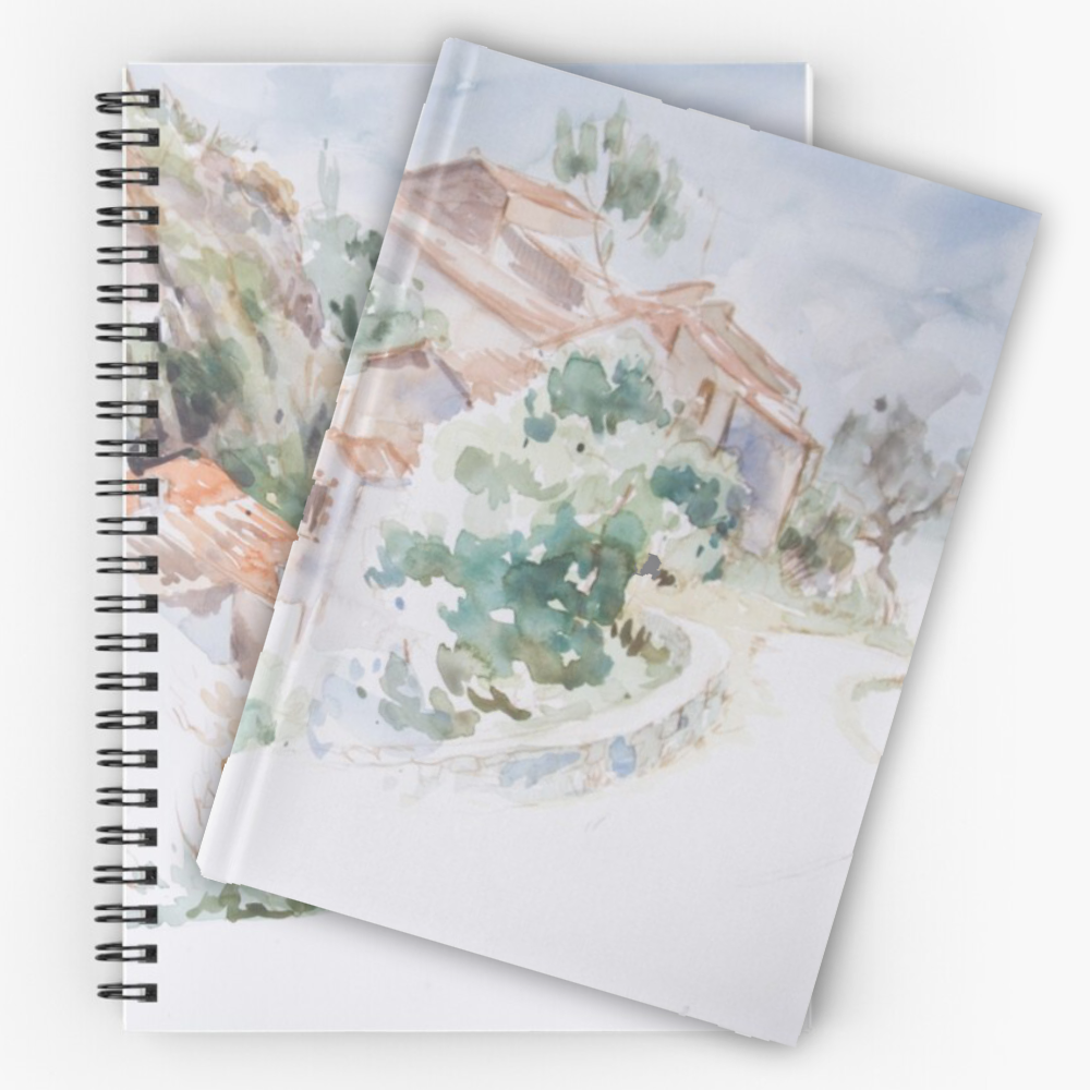 'A Country Village' Notebooks by Sara Moon Art