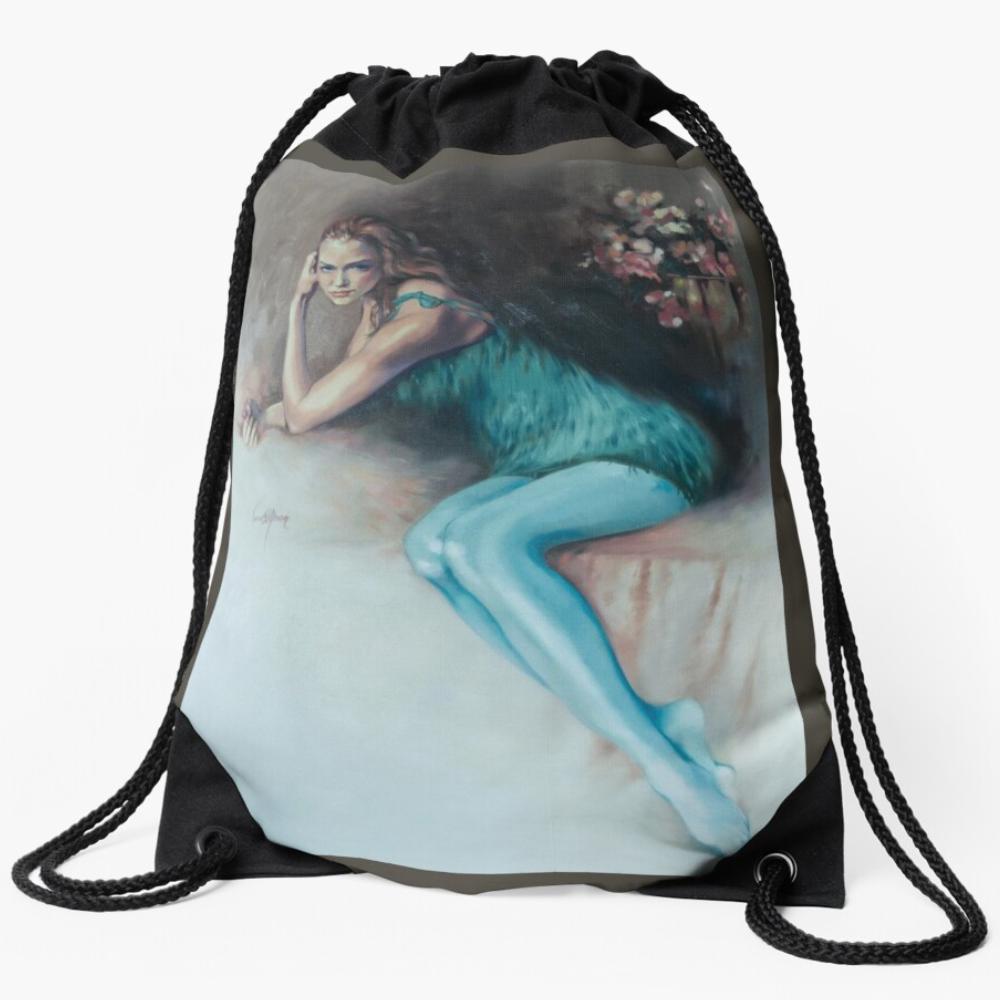 Chloe Draw-String Bag by Sara Moon