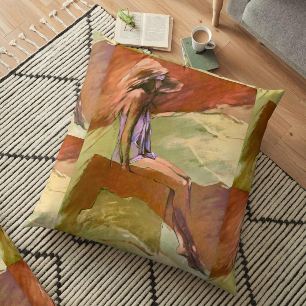 """""""D'Ann"""" Pillows by Sara Moon"""