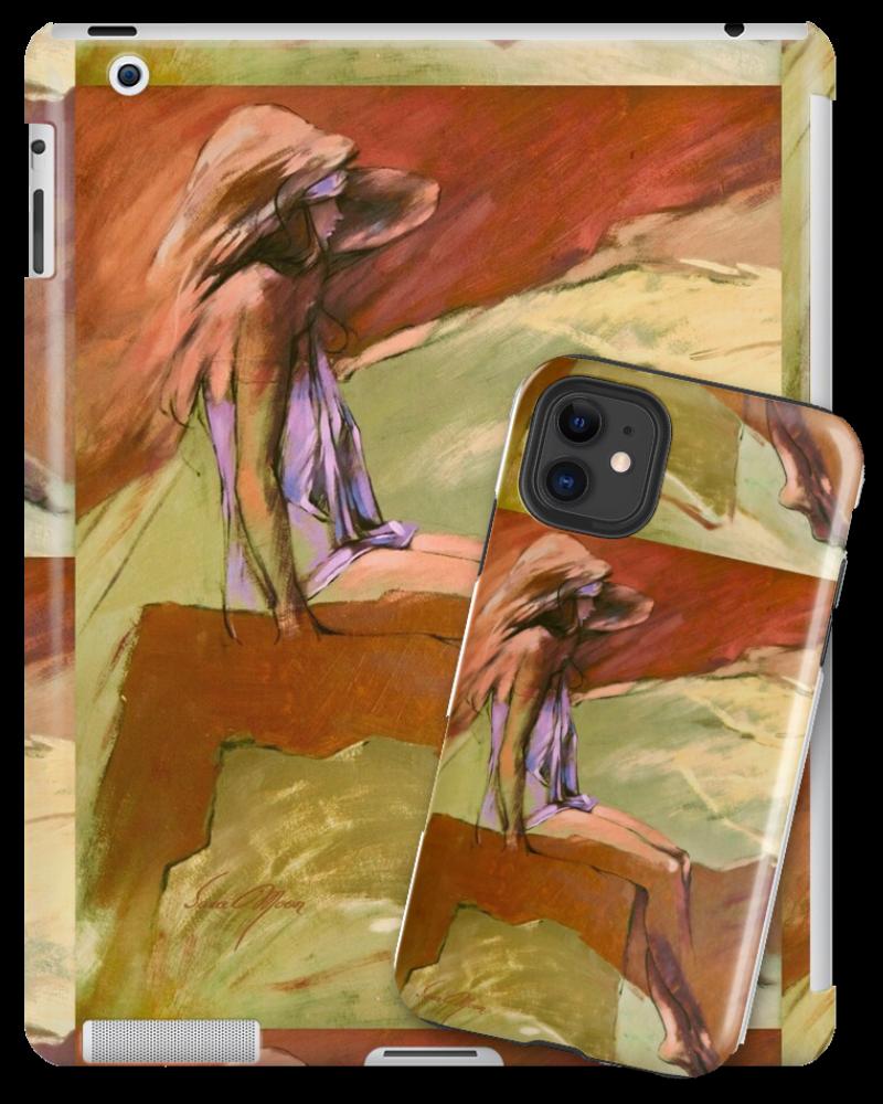 """D'Ann"" Tablet & Phone Skins by Sara Moon"
