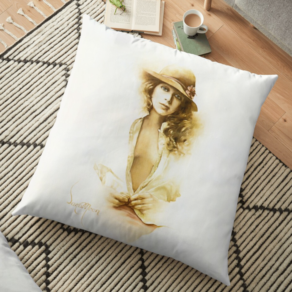 'Gina' Pillow by Sara Moon