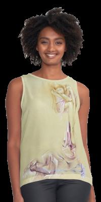 'Satin Cascade' Casual Clothing by Sara Moon