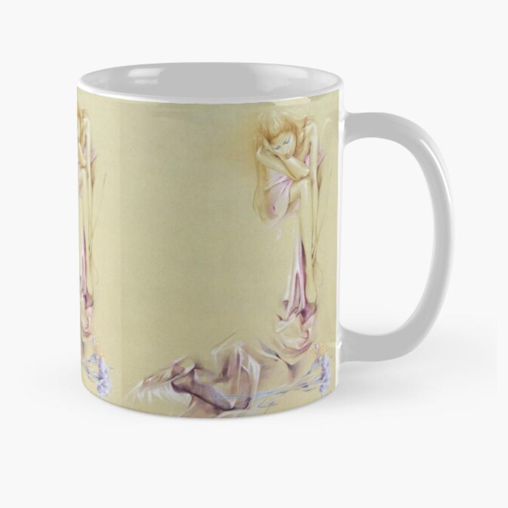 'Satin Cascade' Mug by Sara Moon