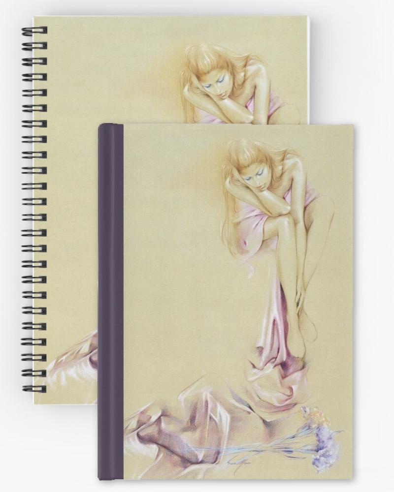 'Satin Cascade' Notepads by Sara Moon