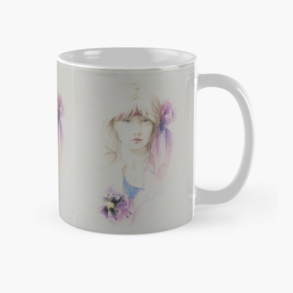 'Hibiscus' Mugs & Travel Mugs by Sara Moon