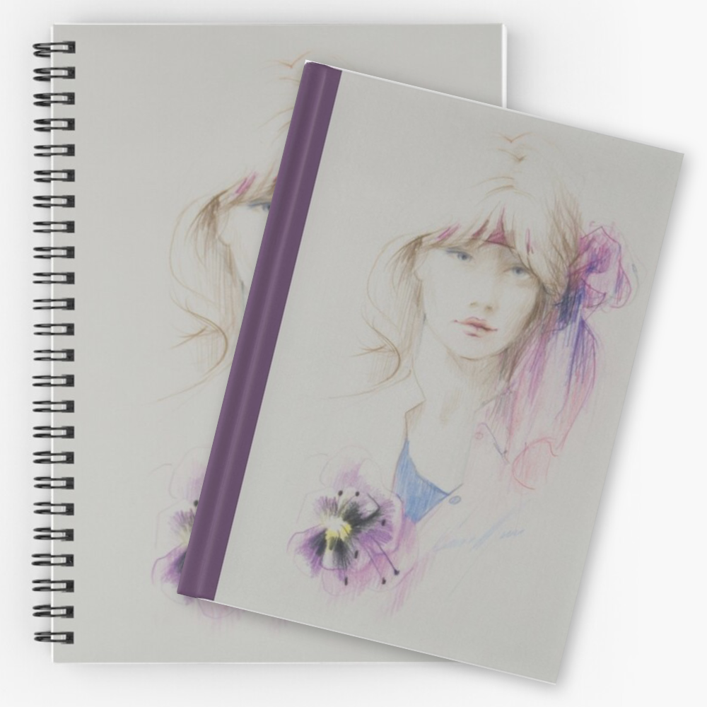 'Hibiscus' Notebooks & Journals by Sara Moon