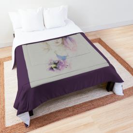 'Hibiscus' Comforter by Sara Moon