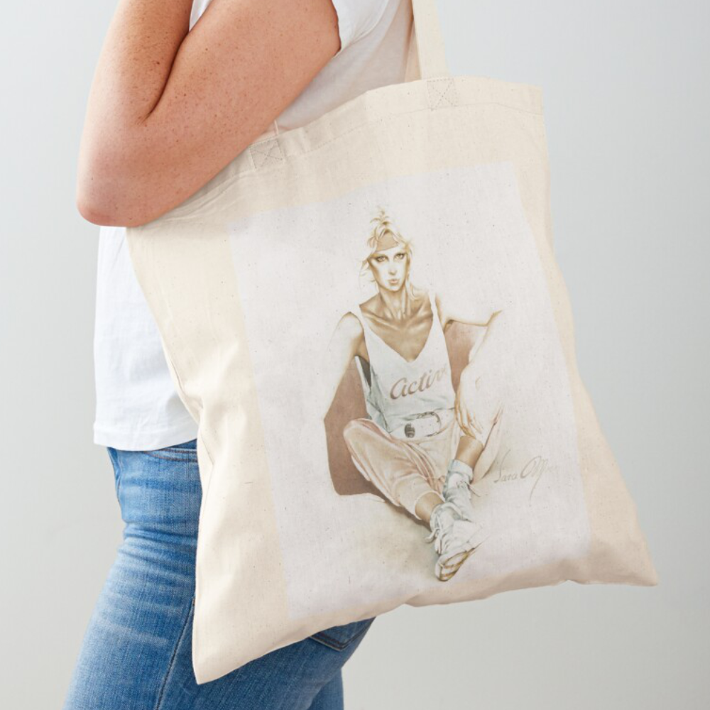 'Active' Draw-String Bag by Sara Moon