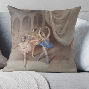 'The Ensemble' Pillow by Sara Moon