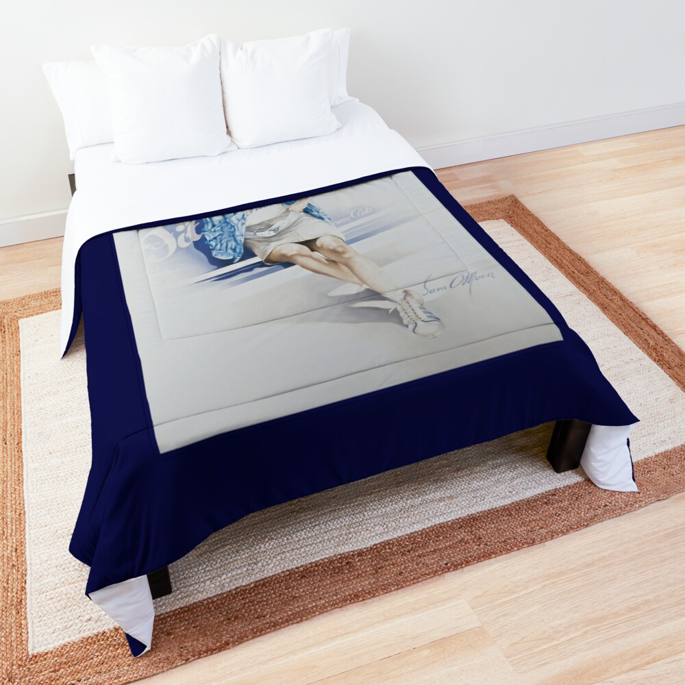 'Fitness' Comforter by Sara Moon
