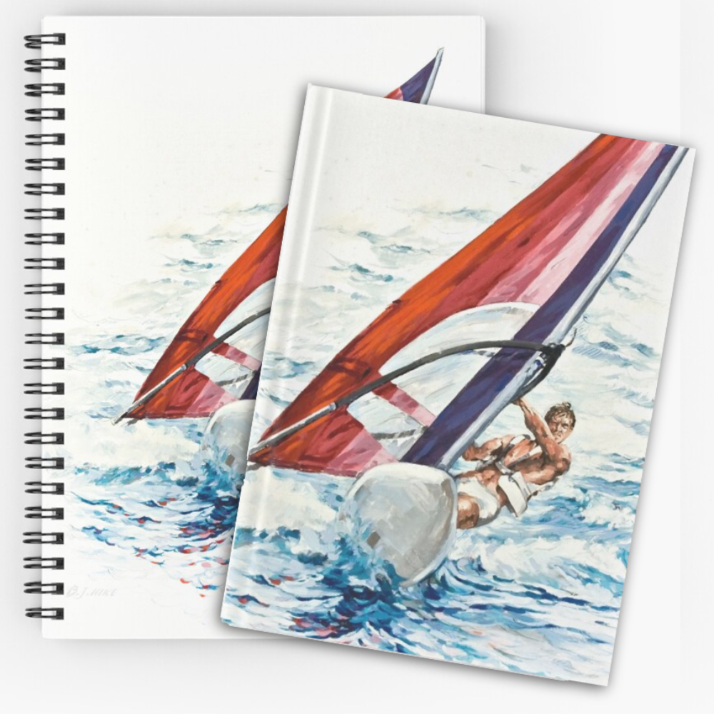 'Riding The Waves' Notepads by Bijan D.