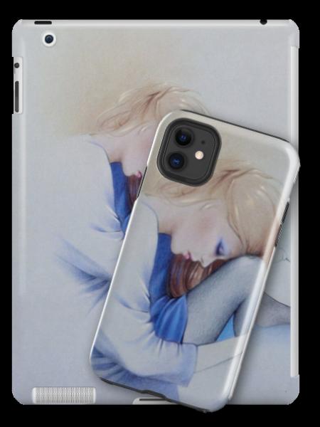 'Sara Blue' Tablet Skin by Sara Moon