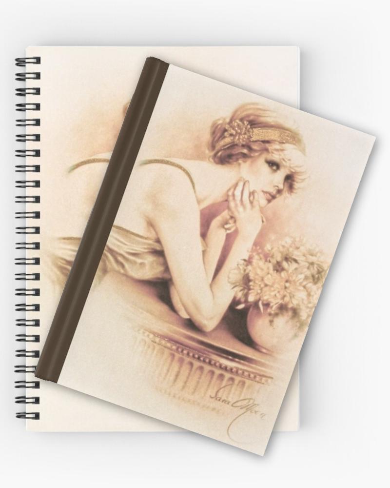 'Solange' Notebooks & Journals by Sara Moon