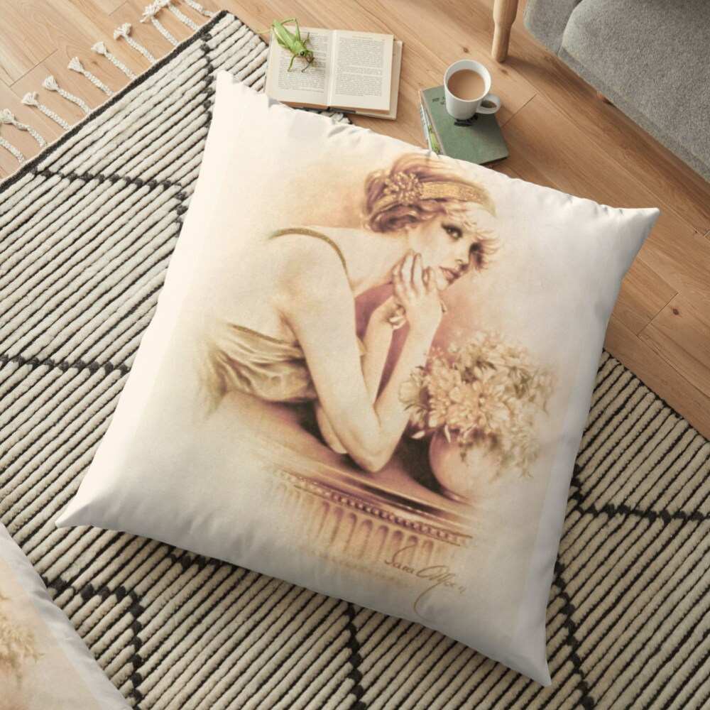 'Solange' Pillow by Sara Moon