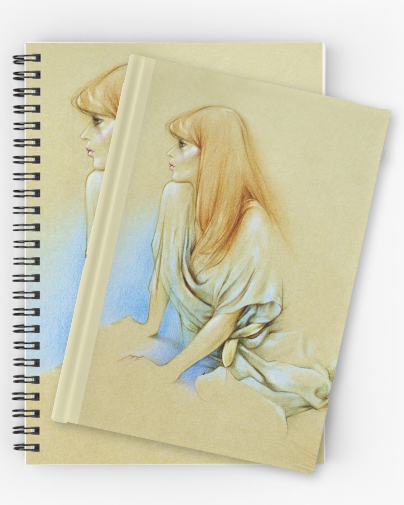 'Eating' Notebooks & Journals by Sara Moon